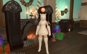 Mexi in a Moogle suit